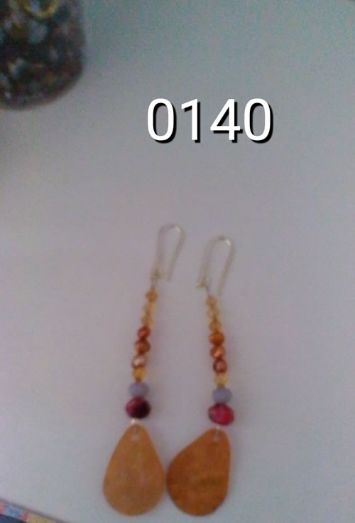 orecchini code pavone 0140