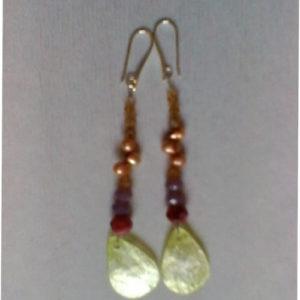orecchini code pavone 0141
