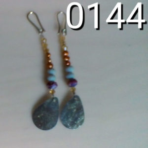 orecchini code pavone 0144